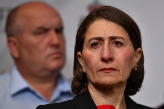 """We can't pretend that this is something that we have experienced before. It's not,"" Ms Berejiklian said on Sunday morning."