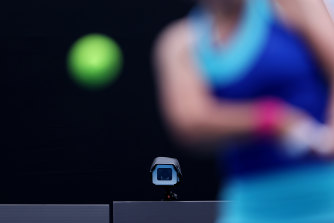 Line judges have been replaced by an electronic system at this year's Australian Open.