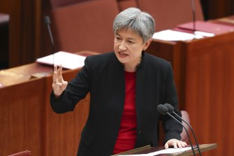 Labor foreign affairs spokeswoman Penny Wong.