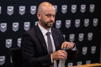Todd Greenberg was out the NRL door this week.