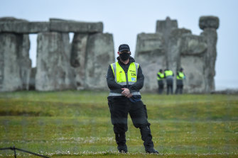 Stonehenge remained closed for summer solstice.