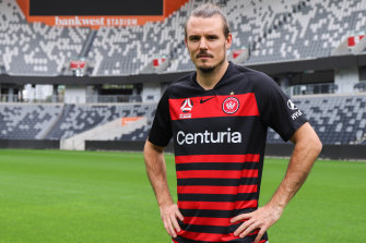 Alexander Meier, Western Sydney's new marquee signing.