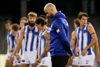 North Melbourne say they have players who are affected by the hotspot ban.