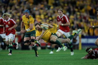 The 2025 British and Irish Lions tour is one of the jewels in the crown of Rugby Australia's 400-game broadcast proposal.