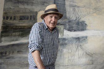 Artist Peter Kingston rebuffs Australia Day honour in protest
