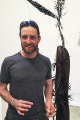 Dan Moor, installation shot, <i>A Magic Stranger Than Death</i>, 2018.