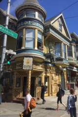 The Haight-Ashbury district of San Francisco was a cultural epicentre in the 1960s.