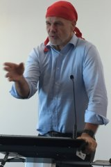 Australian Republican Movement chair Peter FitzSimons in Brisbane.