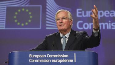Michel Barnier, chief negotiator for the EU.