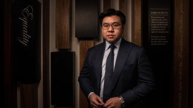 Race Discrimination Commissioner Tim Soutphommasane.