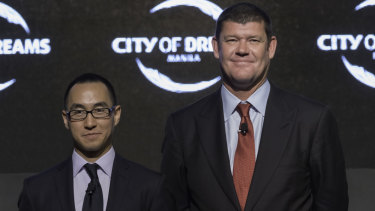 James Packer and Lawrence Ho.