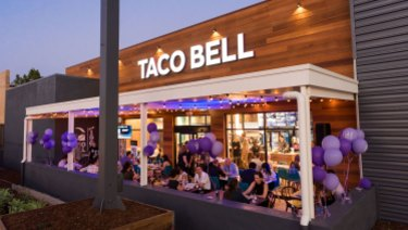 Queensland's first Taco Bell in Annerley on Brisbane's southside.