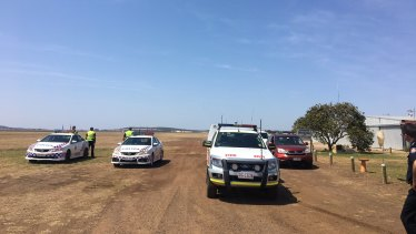 Two people have died after a glider incident at Bowenville.