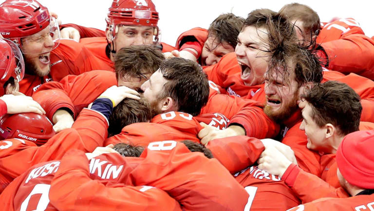 """""""We knew that we will do it if we win"""": The team's assistant captain Ilya Kovalchuk."""