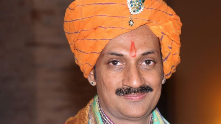 Manvendra Singh Gohil, the first Indian member of a royal family to come out as gay.