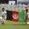 Afghanistan beats Ireland in historic Test