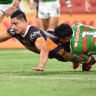 Staggs' night: Hat-trick hero shines for Broncos in triumph over Souths