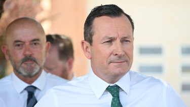 WA Premier Mark McGowan is yet to receive health advice on whether Queensland can go from a 'medium risk' to 'low risk' classification.