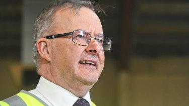 Opposition Leader Anthony Albanese visited Malaga fabricators Adarsh Australia in Western Australia last week.