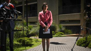 Premier Gladys Berejiklian has denied all wrongdoing.