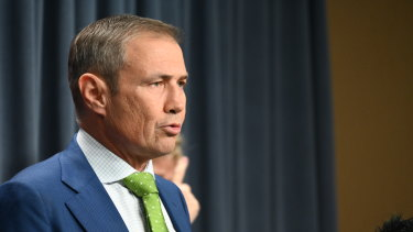 Health Minister Roger Cook says the hard border is an important element when it comes to keeping WA safe.