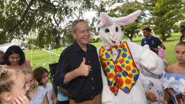 Bill Shorten on Easter Sunday.