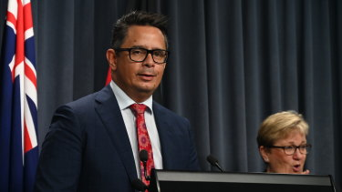 WA Treasurer Ben Wyatt said the lockdown was expected to have a 'negligible impact' on economic growth in the state.