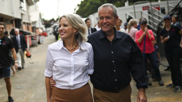 Street-walk style ... Chloe Shorten makes herself relatable through her fashion choices.