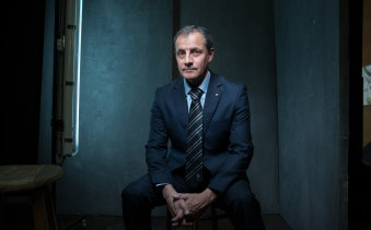 War crimes investigator Michael Stefanovic.