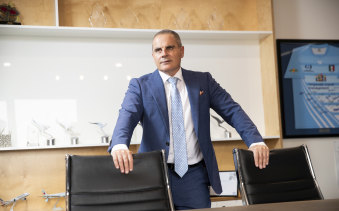 Corporate Travel chief executive Jamie Pherous is still the company's largest shareholder with 15.6 per cent of shares.