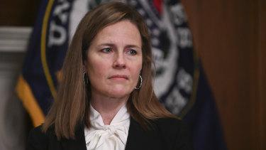 Judge Amy Coney Barrett.