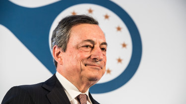 Outgoing European Central Bank president Mario Draghi launched a bid to stimulate the economy.
