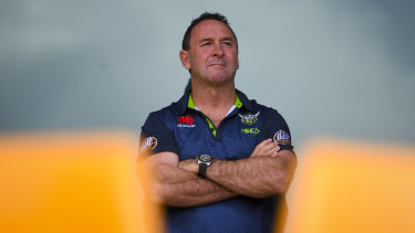 Ricky Stuart refused to say anything about the controversial refereeing decisions in the grand final in the aftermath.