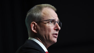 """""""A free press can't do its job if it's not there"""": Communications Minister Paul Fletcher."""