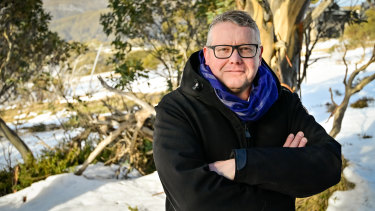 Whispir chief executive Jeromy Wells has moved to the Victorian ski resort of Mt Buller for the duration of the pandemic.