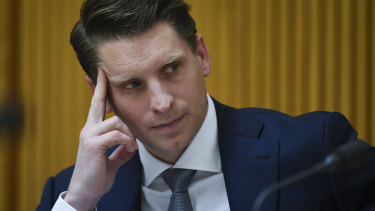 Liberal MP Andrew Hastie received the letter from the UK High Commissioner on Thursday.
