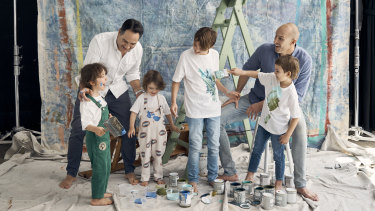 """Wippa: """"Working dads are in a generous position as they come home and it's a change of scenery. They're the new face in the room while Mum may have been with them all day. So they instantly become the fun dad."""""""