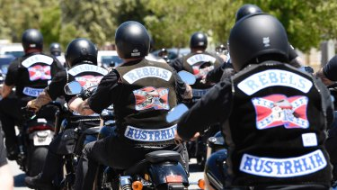 Bikies face severe consequences for leaving clubs.