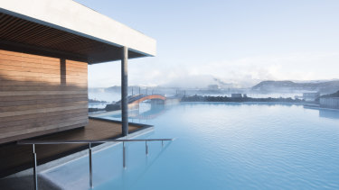 The Retreat at Blue Lagoon, Iceland: a pampering space set among geothermal waters in a black lava field.