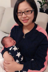 Jing Chen says giving birth to her son Declan Thomas in the private system was worth it.