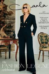 The cover of the Carla Zampatti magazine.