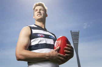 Geelong recruit Josh Jenkins.