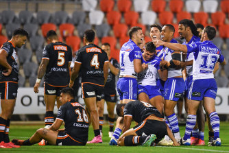 The Tigers were embarrassed 38-0 on Sunday by the hapless Bulldogs.
