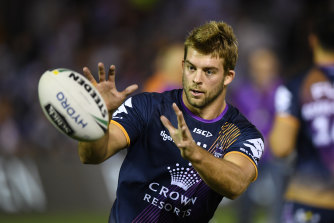 Origin prop Christian Welch has been stood down by the Melbourne Storm after inviting a guest into the NRL bubble overnight.