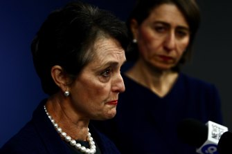 Pru Goward's review into NSW ministerial office operations was described as brutal by the NSW Premier Gladys Berejiklian.