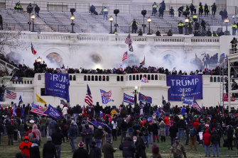 The January 6 Capitol riots.