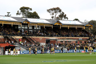 The Jack Dyer Stand at Punt Road Oval.