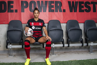 New Western Sydney Wanderers recruit Lynn Williams will be arguably the most decorated player in the W-League this season.