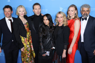 Dominic West, Cate Blanchett, Jai Courtney, Soraya Heidari, Asher Keddie, Yvonne Strahovski and Burhan Zangana, attend the Berlinale Series Premiere for  Stateless.