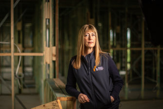 Master Builders Victoria chief executive Rebecca Casson.